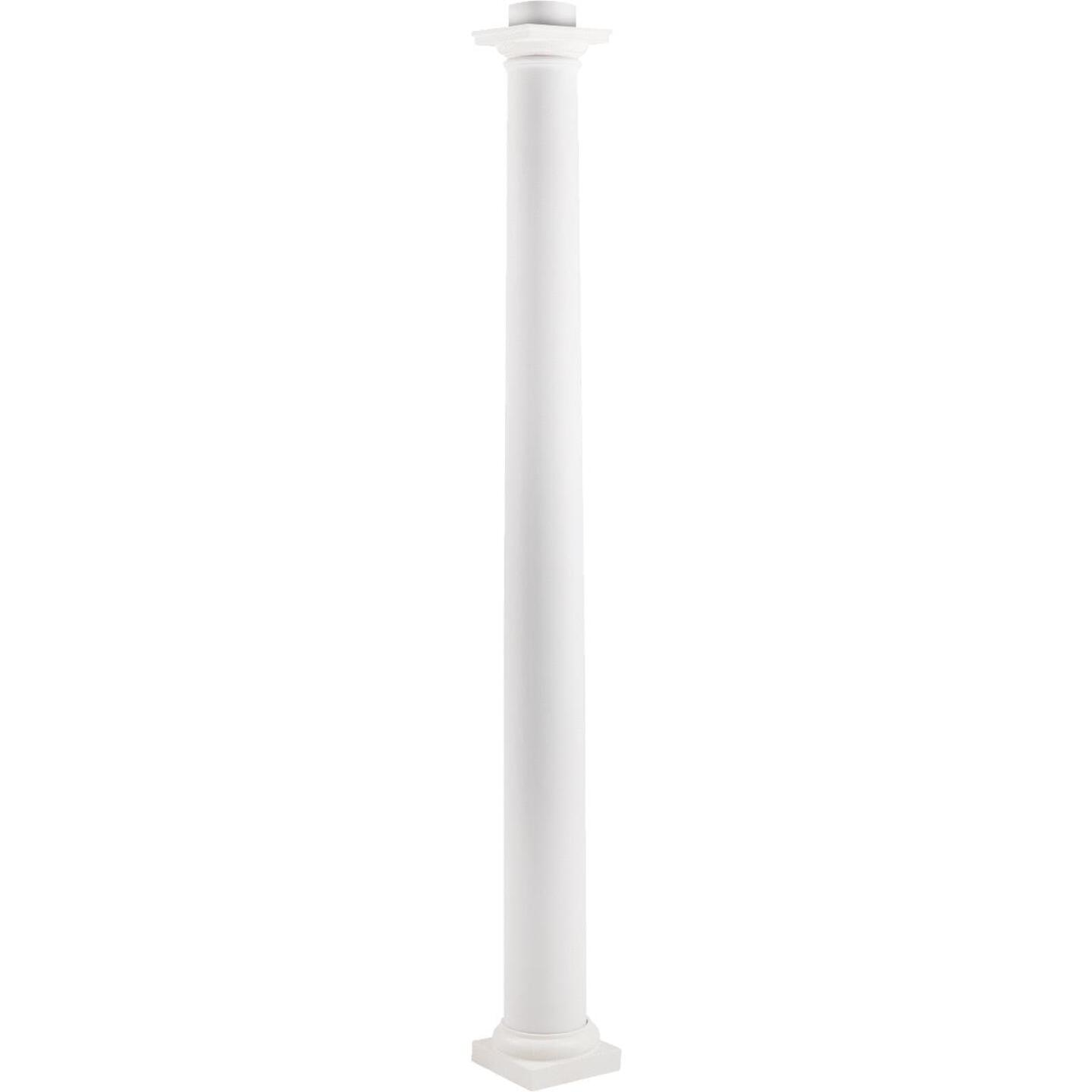 Crown Column 8 In. x 8 Ft. Unfinished Round Fiberglass Column Image 4