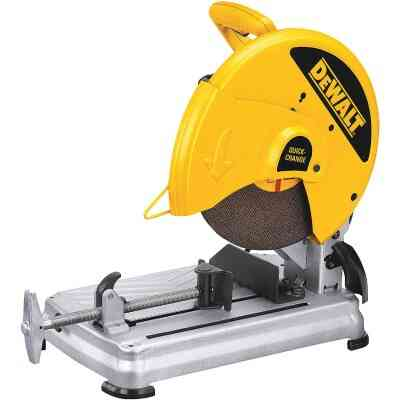DeWalt 14 In. 15-Amp Chop Saw w/Keyless Blade Change System