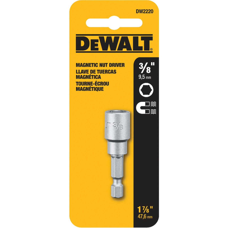 DeWalt 3/8 In. x 1-1/2 In. Magnetic Nutdriver Bit Image 2