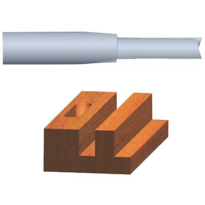 Vermont American Carbide Tip 5/16 In. Straight Bit