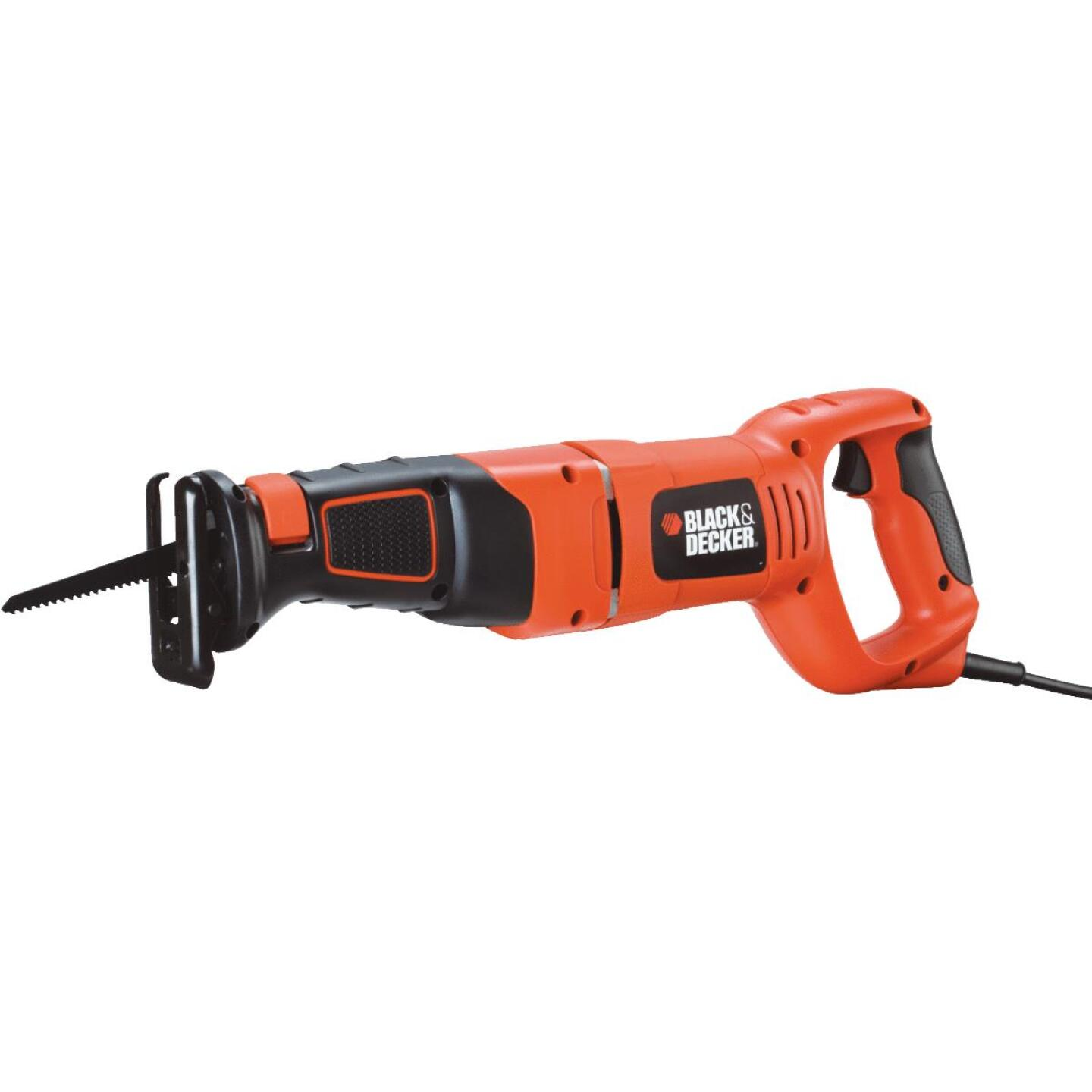 Black & Decker 8.5-Amp Reciprocating Saw Kit Image 3